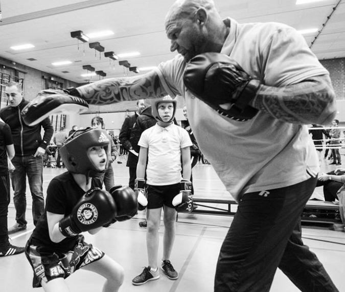 boksschool arnhem Patrick Baart